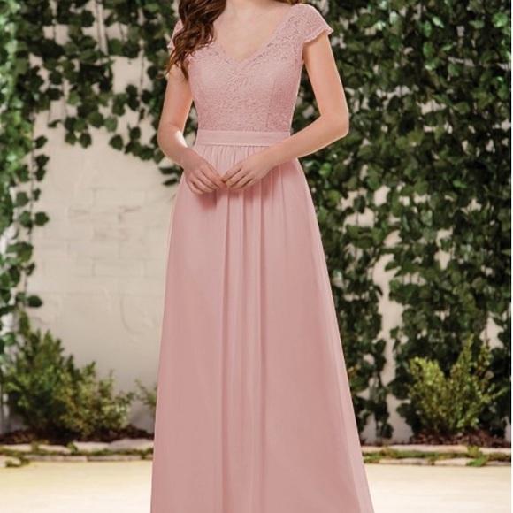 Jasmine B2 Dresses   Misty Pink Bridesmaid Dress Size 20   Poshmark